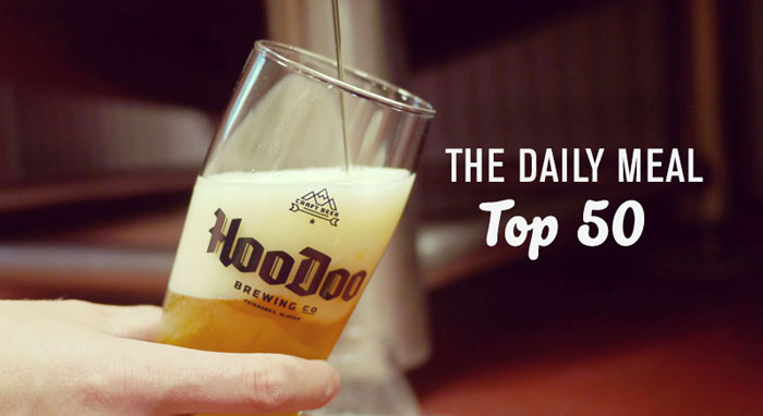 HooDoo Brewing The Daily Meal Top 50