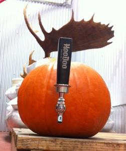 HooDoo Pumpkin Ale - Pumpkin Keg