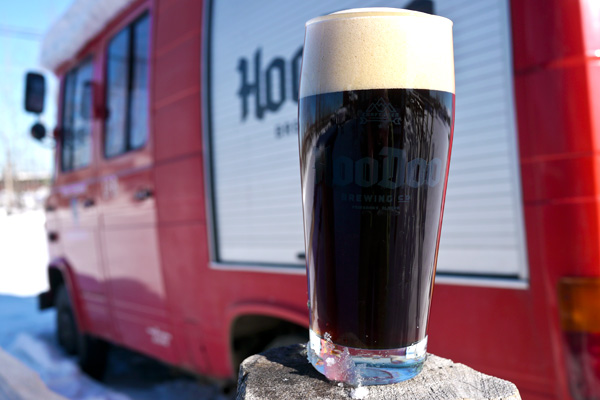 HooDoo Brewing Co. Fairbanks Alaska Schwarzbier