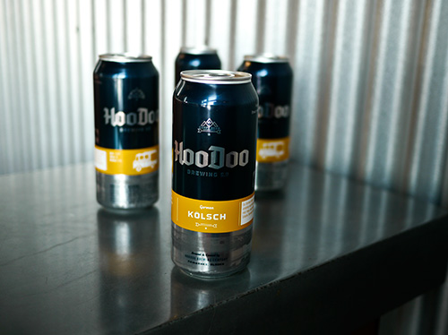 HooDoo Brewing C. Fairbanks Alaska Cans