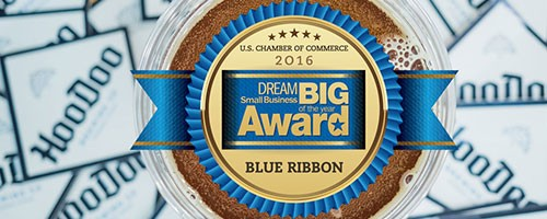 HooDoo Brewing Co Chamber of Commerce Award