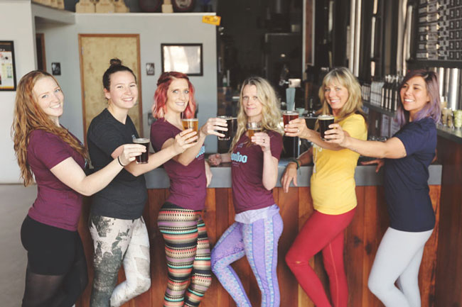 Yoga On Tap HooDoo Brewing Co Fairbanks Alaska