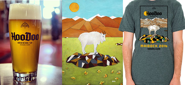 Celebrate May with a Maibock Lager and local art.