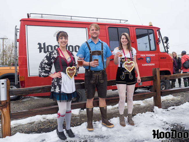 HooDoo Brewing Co. Oktoberfest Fairbanks Alaska